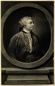 V0002766 Sir John Hill. Mezzotint by R. Houston af