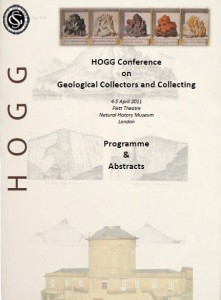 2011 April – Geological collectors andcollecting